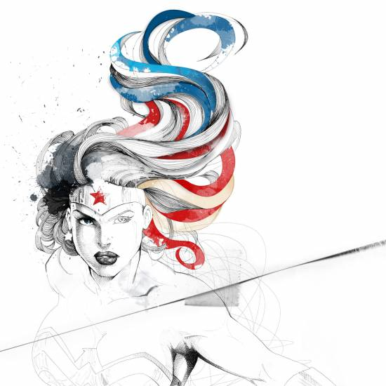 Wonder Woman par David Despau, Espagne