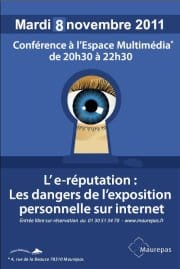 conference 2011 sur l'e-reputation à Maurepas