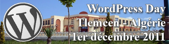wordpress day Tlemcen Algerie